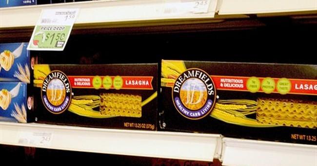 Pasta maker settles false-advertising lawsuit