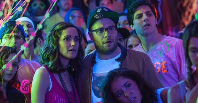 'Neighbors' tops box office, Spidey to No. 2