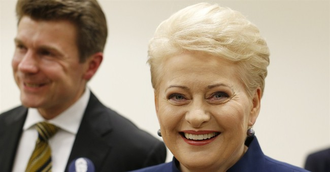 Incumbent wins 1st round in Lithuania vote