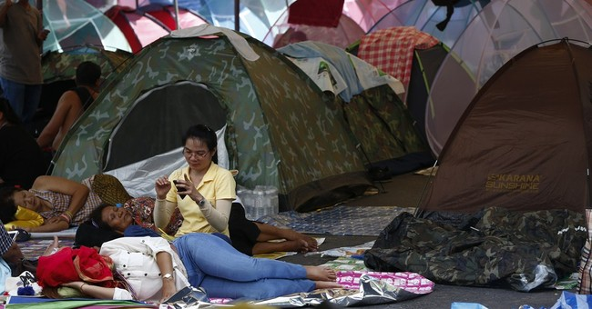 Thailand warns people to stay away from protests