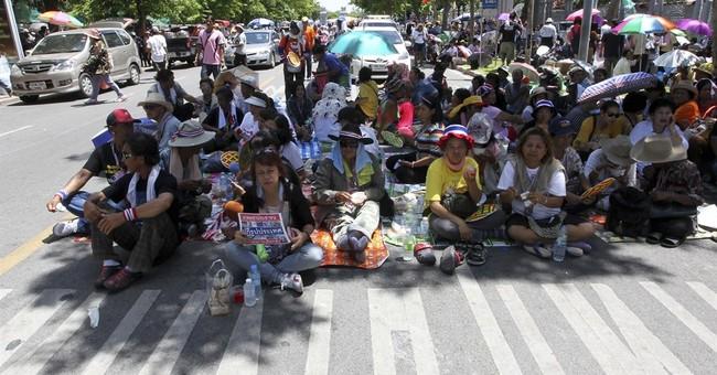 Thai protest leader renews gov't ouster call