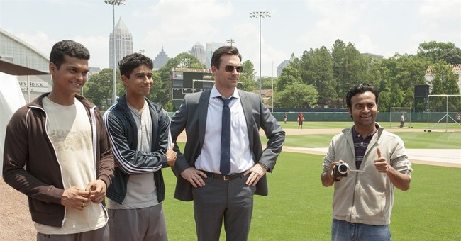 Review: Jon Hamm's baseball film is corny but fun