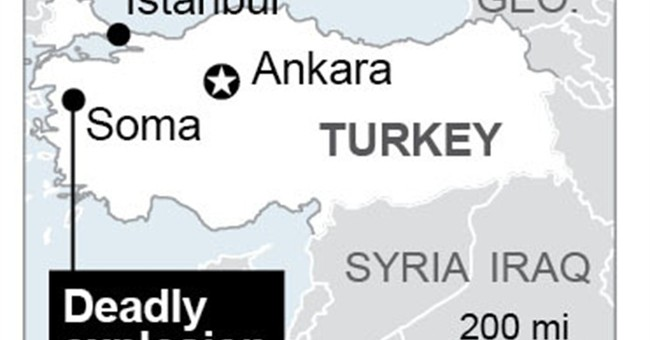 151 dead, many trapped in Turkish coal mine