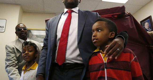 Ras Baraka declares victory in Newark mayor's race