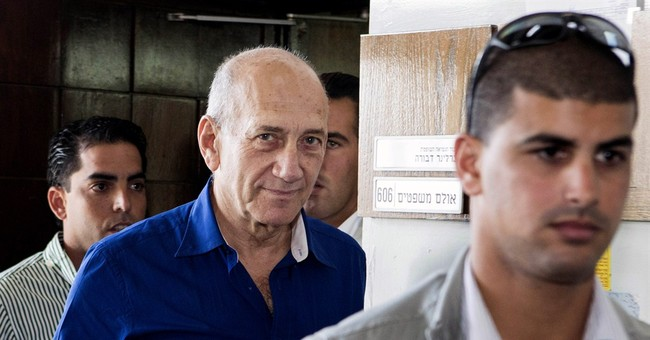 Israel's Olmert gets 6-year sentence in bribe case
