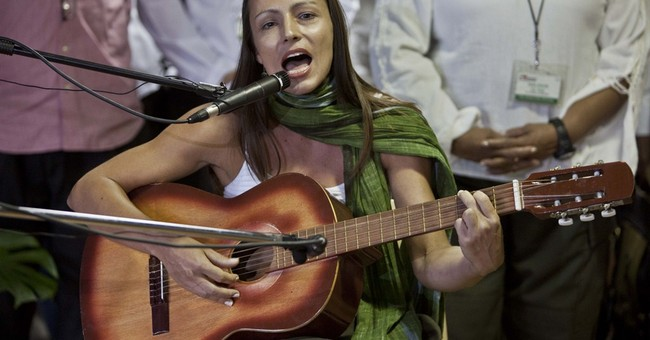 Rapping rebels promote Colombia peace talks
