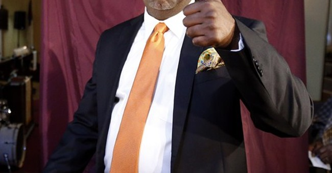 Ras Baraka declares victory in Newark mayor's race
