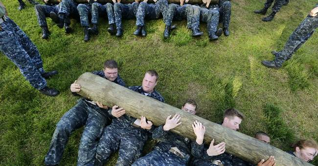 AP PHOTOS: Naval cadets perform Sea Trials