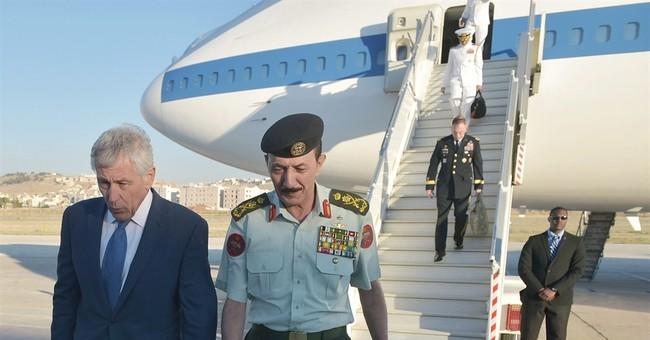 Hagel reassures Persian Gulf allies
