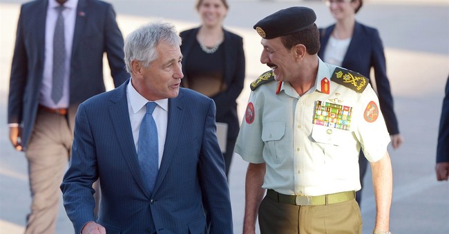 Hagel reassures Persian Gulf allies