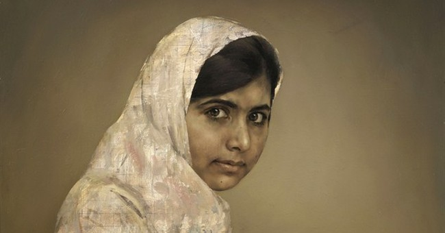 $103K for portrait of girl who was shot by Taliban