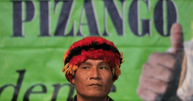 Peru Indian leader on trial for highway massacre