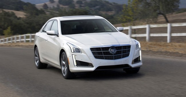 Cadillac CTS takes on BMW, Mercedes
