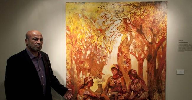 West Bank exhibit gives Gaza artists rare showcase