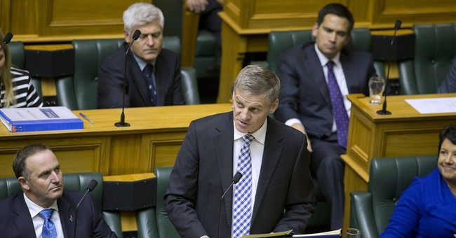 New Zealand government projects budget surplus