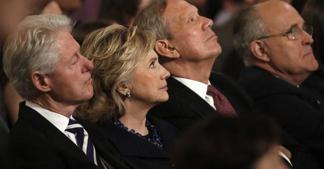 Clintons push back against Republican critics