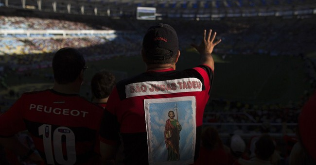 AP Photos: Football like a religion for Brazilians