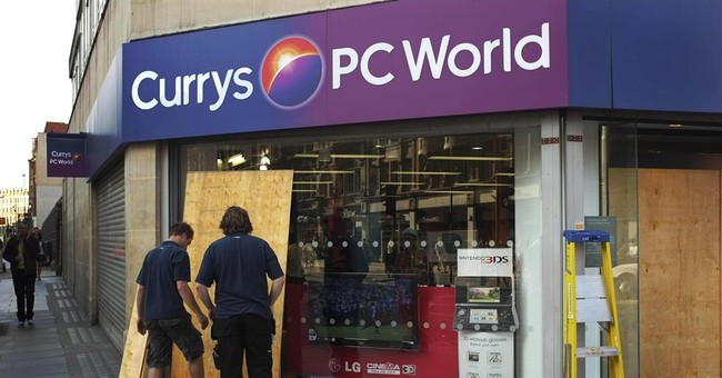 UK retailers Carphone Warehouse, Dixons to merge