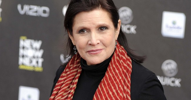 Carrie Fisher mostly mum on 'Star Wars' sequel