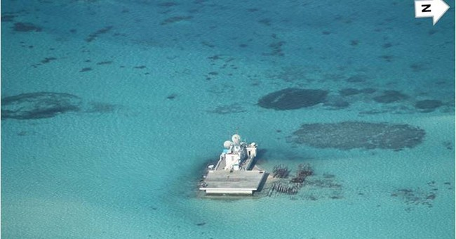 Philippines releases photos of Chinese reclamation