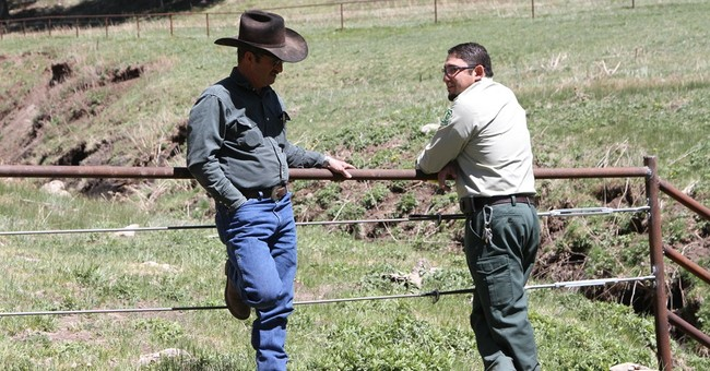 Rural county, feds locked in water-rights dispute