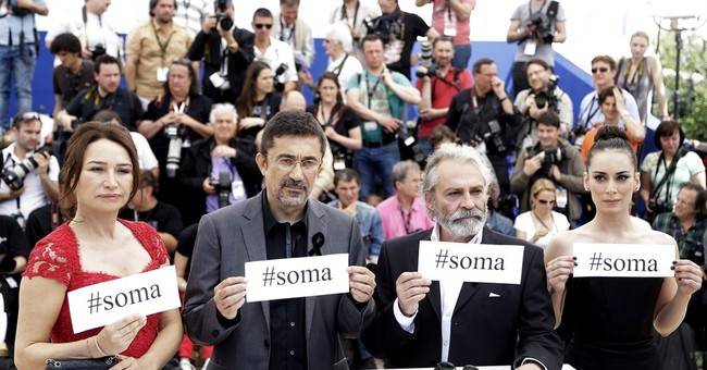 CANNES WATCH: Stars show solidarity with miners