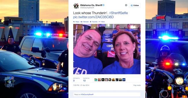 Okla. sheriff's tweets among most popular in US