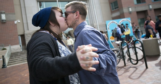 Idaho gay marriage supporters gather for rally