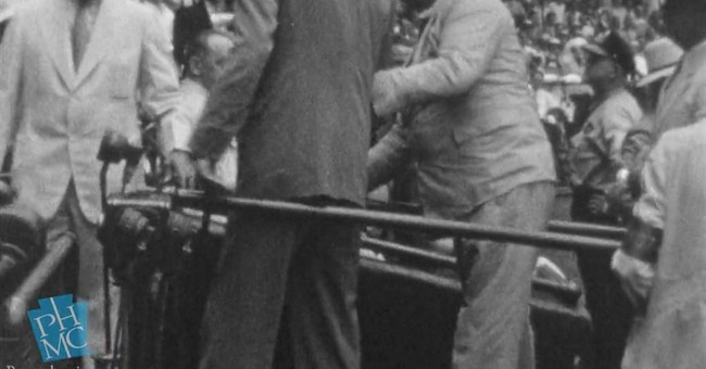 Rare footage shows 'brave struggle' of FDR walking