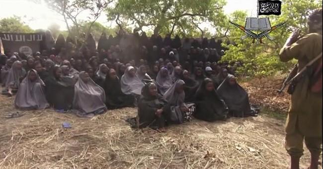 Nigeria leader nixes visit where girls kidnapped
