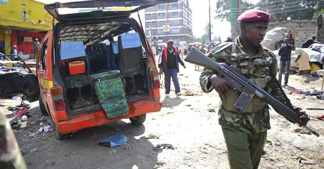 Bombings kill 10, wound 70 in Kenyan market