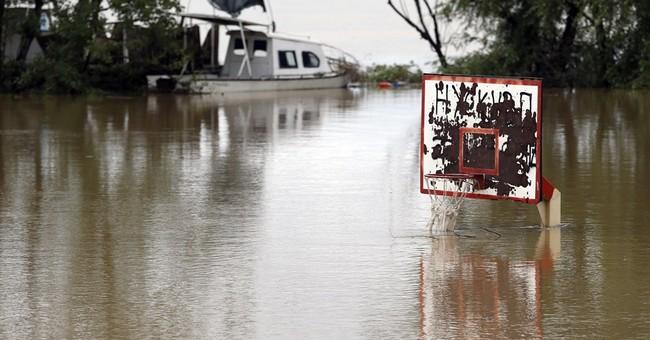 AP PHOTOS:  Balkans hit with record flooding