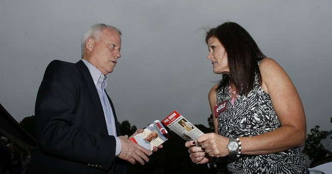 Senate candidates campaign in Ga.'s GOP stronghold