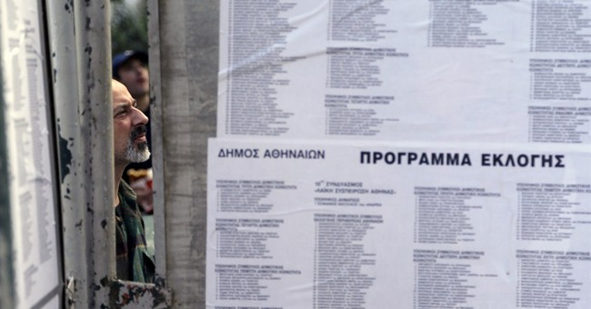 Greek coalition faces major test in midterm vote