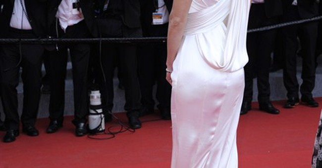 CANNES WATCH: Hilary Swank's Versace stunner