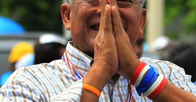 Thai prime minister tells senators he won't resign