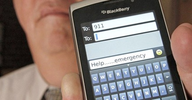 Text 911: Calling for help without making a call