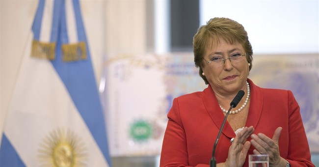 Chile president sends education reform to Congress
