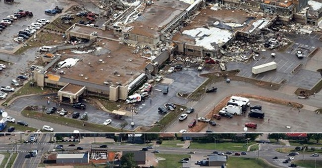 AP PHOTOS: Lingering scars cut by Moore tornado