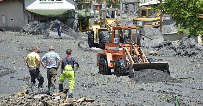 Floods, landslides leave many Bosnians homeless