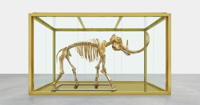 Damien Hirst donates pre-historic item for gala