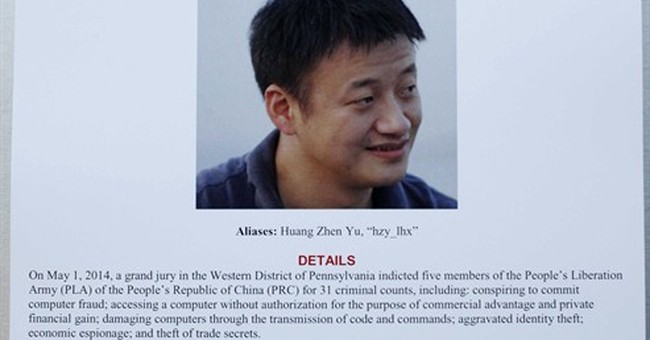 US charges Chinese officials in cyberspying case