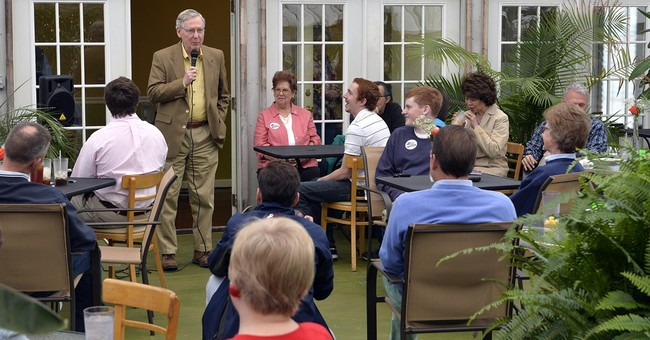 Nunn skirts question on health care vote