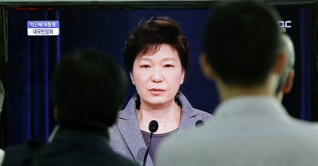 S. Korea's president pushes for end of coast guard