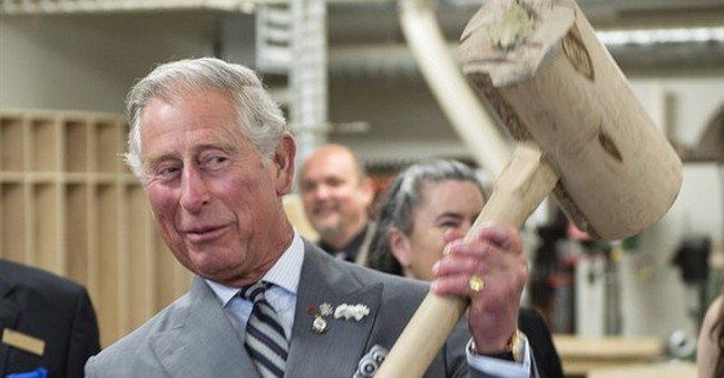 Prince Charles says grandson focuses his attention