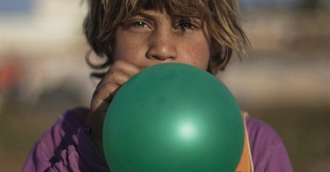 AP PHOTOS: Syrian refugee children lose education
