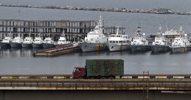 "Ukraine's hobbled navy: ""Times are not the best"""