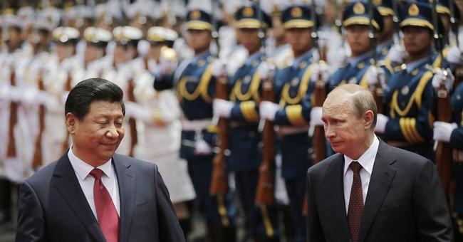 China gives Putin a diplomatic boost