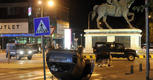 Macedonia: 6 hurt in second day of riots