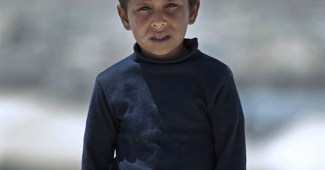 AP PHOTOS: Syrian refugee children lose education